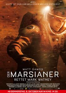 Der Marsianer – Rettet Mark Watney - Filmplakat
