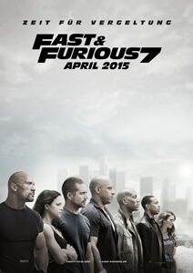 Fast & Furious 7 - Filmplakat