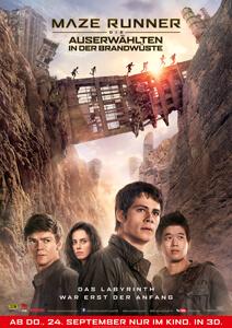 Maze Runner 2 – Die Auserwählten in der Brandwüste - Filmplakat