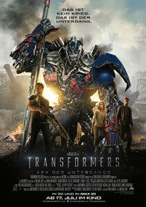 Transformers – Ära des Untergangs - Filmplakat