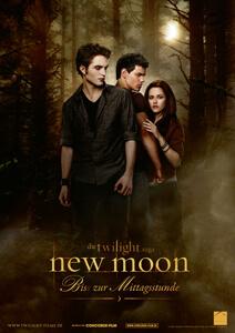 New Moon – Bis(s) zur Mittagsstunde - Filmplakat