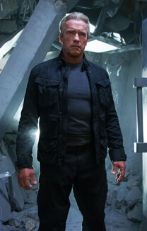 Terminator: Genisys – Gealtertes Modell – Terminator T-800 – Jacke