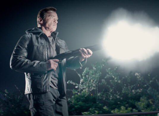 Terminator: Genisys – Terminator T-800 – Terminator T-800 – Lederjacke