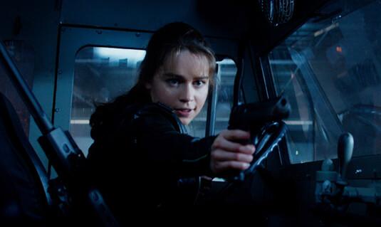 Terminator: Genisys – Ankunft im Jahr 1984 – Sarah Connor – Lederjacke