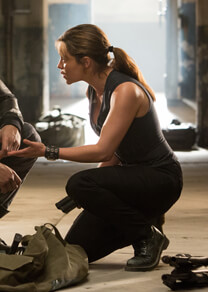 Terminator: Genisys – Annäherung in der Vergangenheit – Sarah Connor – Stiefel