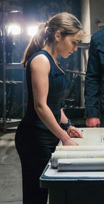 Terminator: Genisys – Lagebesprechung – Sarah Connor – Shirt