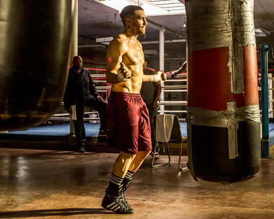 Southpaw – Hartes Training – Billy Hope – Socken
