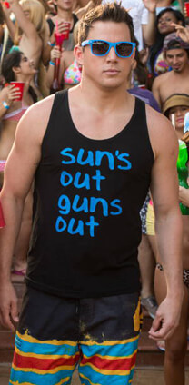 22 Jump Street – It's Spring Break! – Jenko – Sonnenbrille