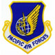 US Air Force - Pacific Air Forces Shield Patch von Emma Stone
