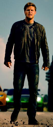 Transformers – Ära des Untergangs – Die Verstärkung rollt an – Shane Dyson – Lederjacke