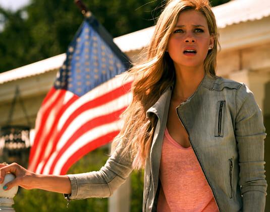 Transformers – Ära des Untergangs – Tessa Yeager – Tessa Yeager – Fahne