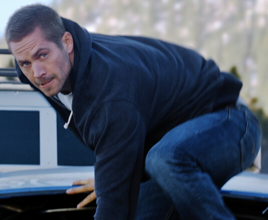 Fast & Furious 7 – Auf dem Sprung – Brian O'Connor – Sweatjacke