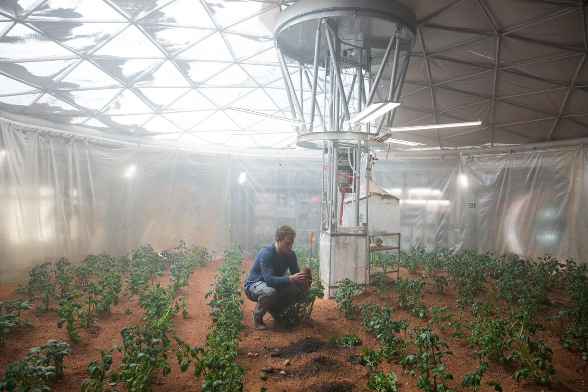 Der Marsianer – Grüner Daumen
