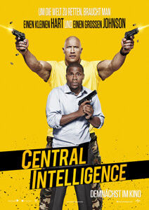 Central Intelligence - Filmplakat
