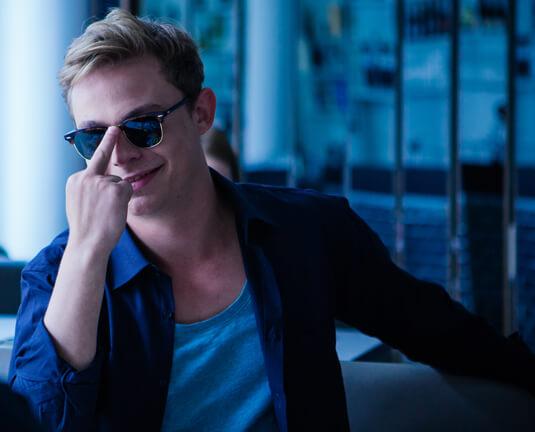 Nirgendwo – Bilderbuchstudent – Rob – Sonnenbrille
