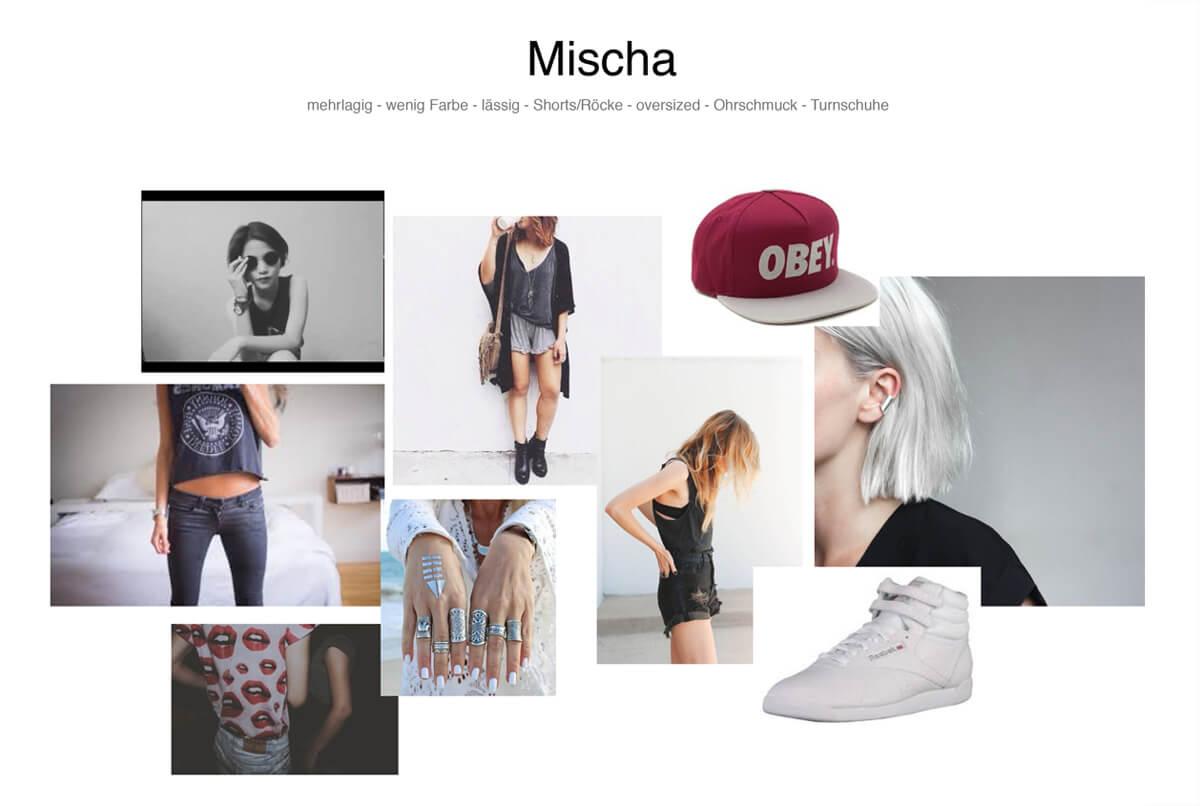 Moodboard Mischa (Jella Haase) aus dem Film Nirgendwo