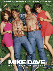 Mike and Dave Need Wedding Dates - Filmplakat