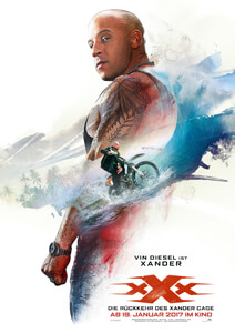 xXx: Return of Xander Cage - Filmplakat