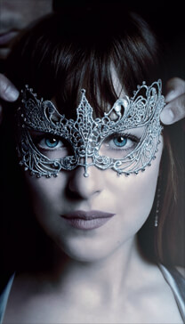 Fifty Shades of Grey 2 – Masquerade – Anastasia Steele – Maske