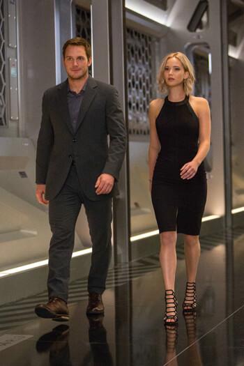 Passengers – Jennifer Lawrence und Chris Pratt beim Date im Weltraum