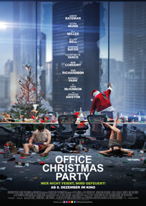 Office Christmas Party - Filmplakat