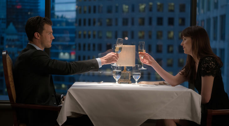 Fifty Shades of Grey 2 – Ein Dinner mit atemberaubender Aussicht