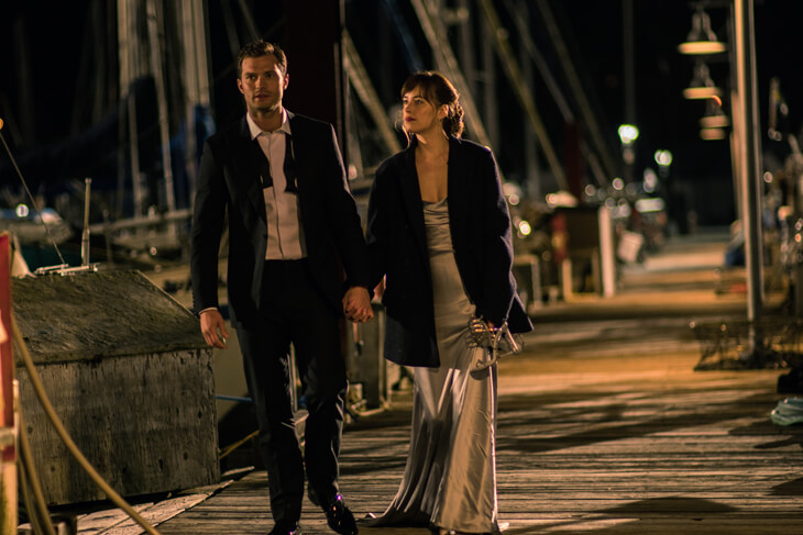 Fifty Shades of Grey 2 – Spaziergang am Hafen
