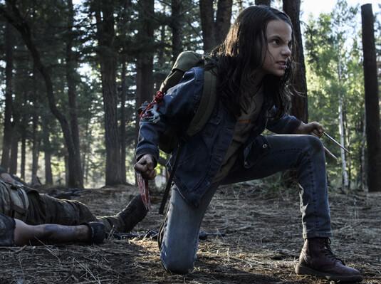Logan – Alles andere als hilflos – Laura – Rucksack