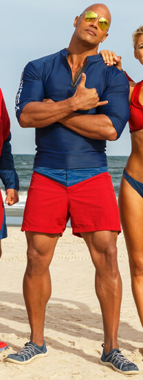 Baywatch – Das Team – Mitch Buchannon – Badehose