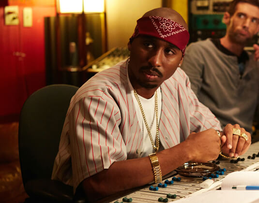 All Eyez On Me – Im Studio – Tupac Shakur – Bandana