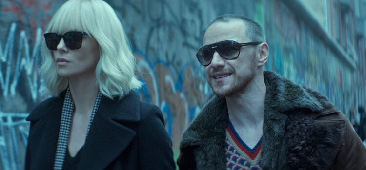 Atomic Blonde – Lorraine und David