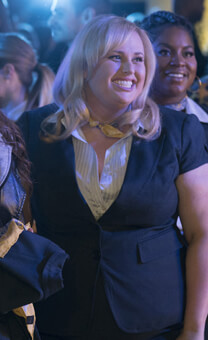 Pitch Perfect 3 – Die Barden Bellas im traditionellen Style – Fat Amy – Bluse