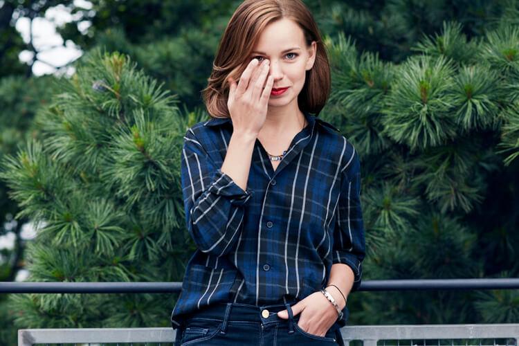 Marit Larsen – When The Morning Comes – Ganz in Blau