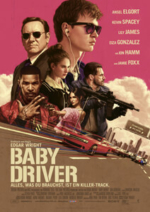 Outfits aus dem Film Baby Driver - Filmplakat