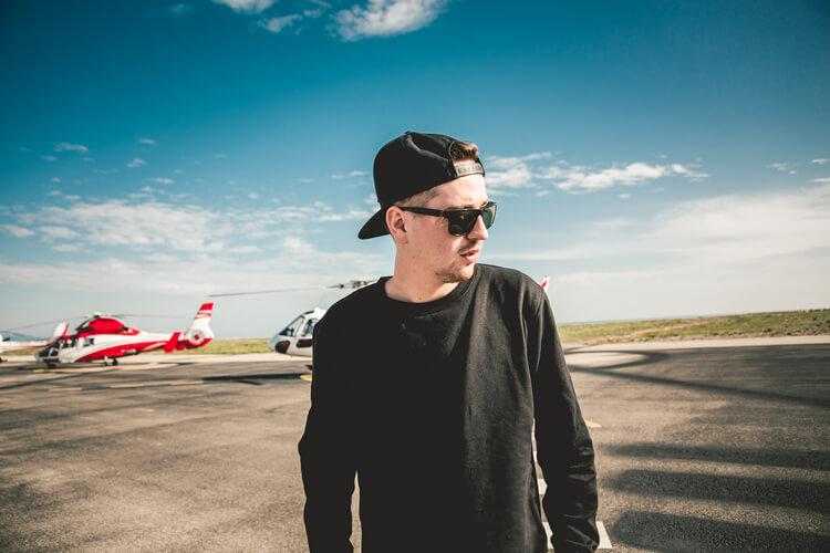 Robin Schulz – Sugar – Kleiner Helikopter-Rundflug