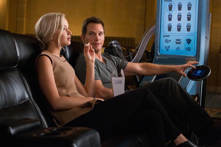 Passengers – Allein im Kino