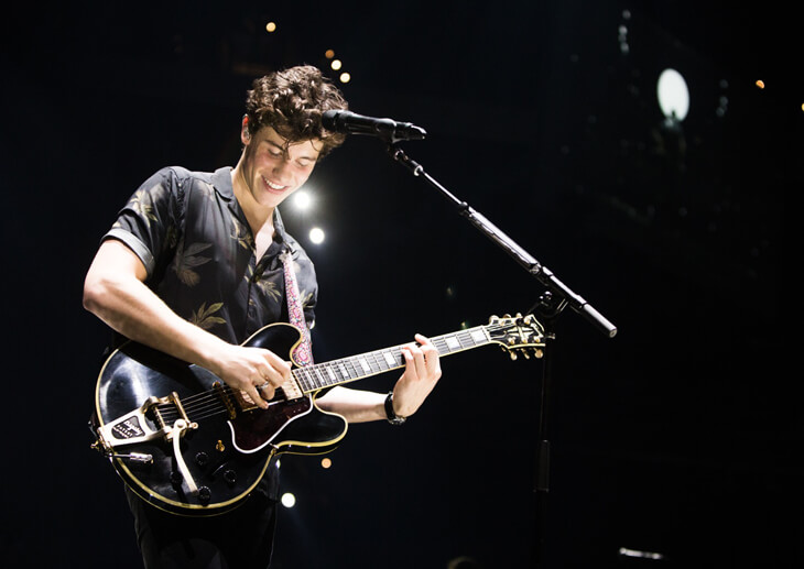 Shawn Mendes – Livekonzert der Illuminate World Tour – Shawn Mendes in Californien