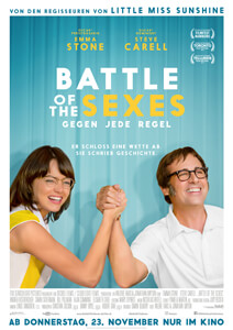 Outfits aus dem Film Battle of the Sexes - Filmplakat