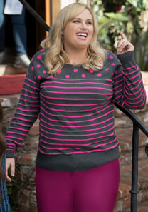 Pitch Perfect 3 – Ausgefallener Humor – Fat Amy – Pullover
