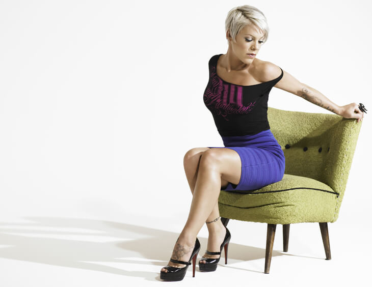 P!nk – Fotoshooting für Funhouse – Fashion Statement