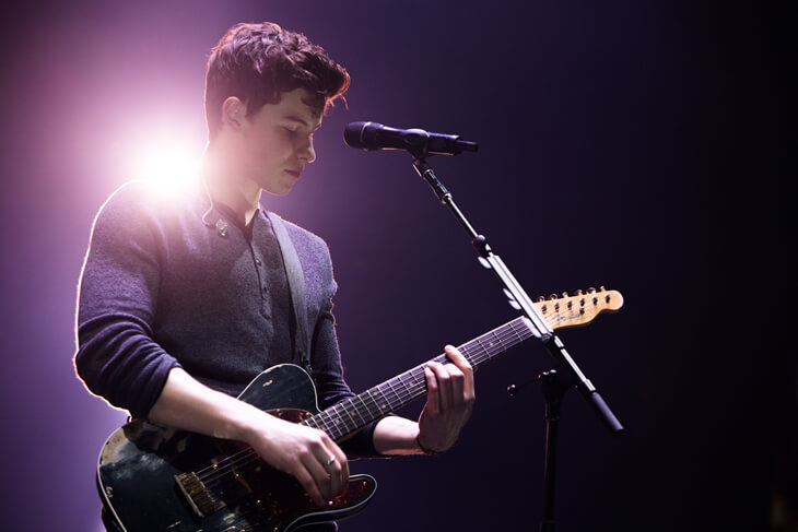 Shawn Mendes auf Illuminate-Tour – Liveauftritt